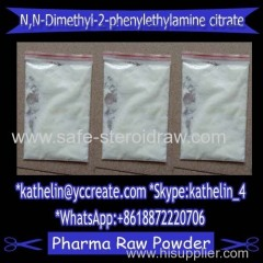 Nootropic Powder N N-Dimethyl-2-phenylethylamine citrate / N N-diMethyl-2-phenylethylaMine hydrochloride (USAF EL-79)