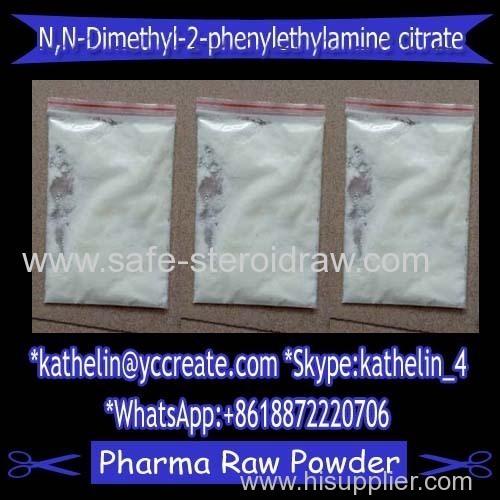 Nootropic Powder N N-Dimethyl-2-phenylethylamine citrate / N N-diMethyl-2-phenylethylaMine hydrochloride (USAF EL-79)