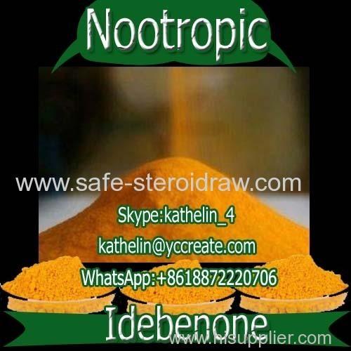Nootropic Powder Treat Alzheimer's Idebenone For Brain Health CAS : 58186-27-9