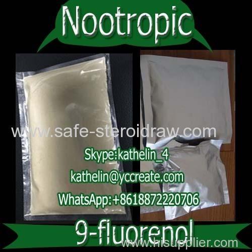 Nootropics Auxiliary Hydrafinil /9-Fluorenol For Brain Health CAS: 1689-64-1