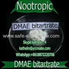 Nootropic 20 Mesh Powder 2-Dimethylaminoethanol (+)-bitartrate salt / DMAE Bitartrate For Brain Health CAS: 5988-51-2