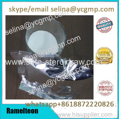 99% Purity Ramelteon Raw Powder 196597-26-9 for Treating Sleep Disorder