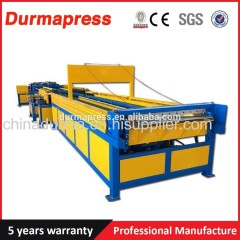 HVAC auto square air duct make machine for ventilation