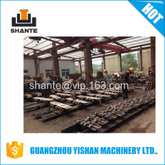 Hot Sale Undercarriage Parts Terex Demag CC2800 Crawler Crane Track Shoe High Quality Track Shoe Crawler Crane