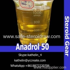 Oil Based Liquid Steroids Oxy metholone 50 Ana-drol 50 (50mg/ml) For Muscle Growth