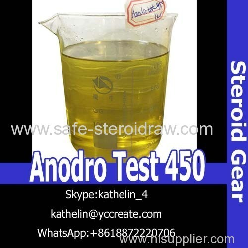 Steroid Injection Oil Anodro Test 450 For Bodybuilding