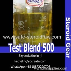 Steroid Injection Oil Test Blend 500 For Bodybuilding