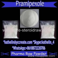 Antiparkinsonism Pharma Powder Pramipexole / Sifrol For PCT CAS: 191217-81-9