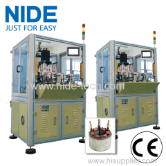 AUTOMATIC MULTI-POLE BLDC MOTOR STATOR WINDING MACHINE