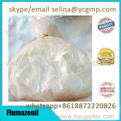99% Purity Antidote Raw Material White Powder Romazicon Flumazenil