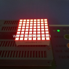 square dot matrix; 8*8 square dot matrix; dot matrix led display