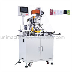 Full automatic hangtag eyelet punching machine