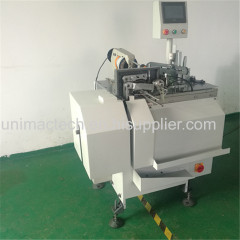 full automatic high speed paper hang tag threading knotting machine