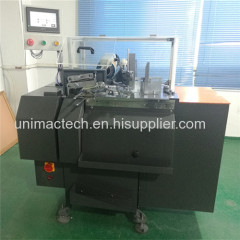 high speed hang tag threading knotting machine