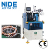 Induction Stator coil end lacing machine