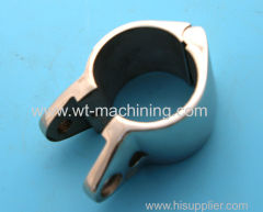 Stainless steel Fluid pipe clamp