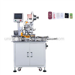 full automatic hang tag eyelet punching machine with PLC control