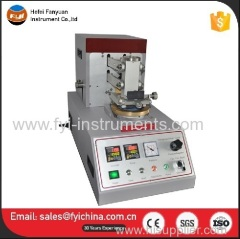 Universal Wear and Abrasion Resistance Tester