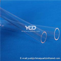 высокотемпературные стеклянные трубки yud для продажи с обеих сторон открыты