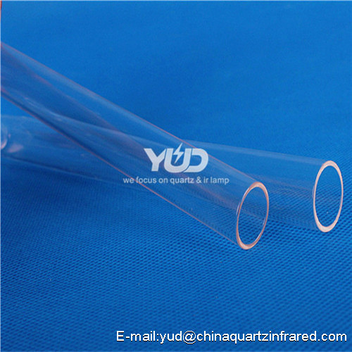 YUD Fused High Quality Polished High temperature quartz tube