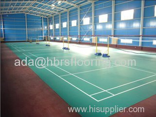 PVC Sports floor pvc taraflex sports flooring for basketball volleyball /court