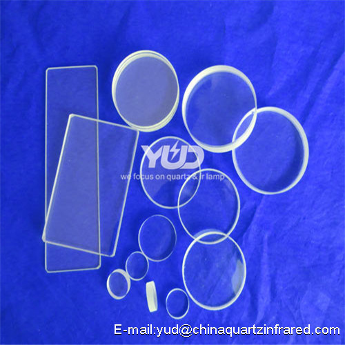 YUD white customized Silica Quartz plate quartz sheet quartz product