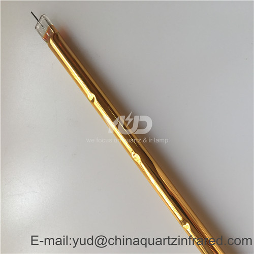 Chinese factory gold outdoor heat lamps for animals