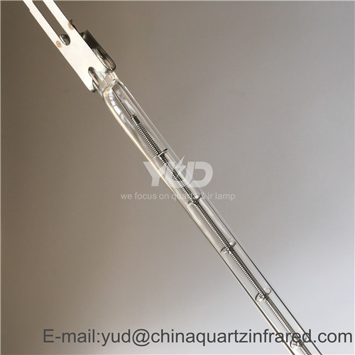 Short wave quartz halogen reflector electric infrared heater lamps for Printing machine