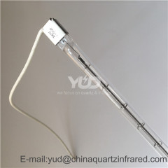 infrared heating lamp for PVB laminated glass