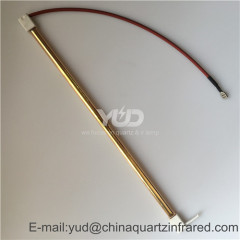 500W Medium wave halogen infrared heating lamp for car painting