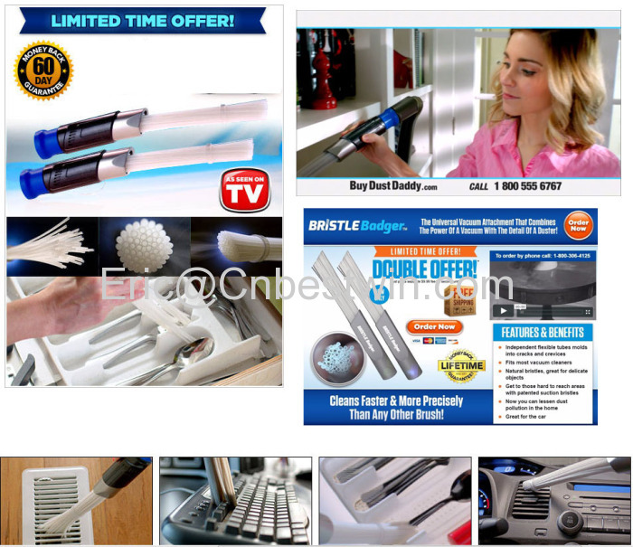 Dust Daddy 2018 New Products Vacuum Cleaner Dust Daddy Accessories