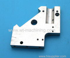 Aluminium manipulator plate parts