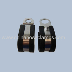Stainless Steel Rubber Fixing Hose Clamp