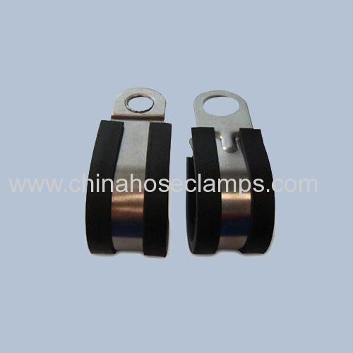 Pipe Type Stainless Steel Rubber Fixing Hose Clamp