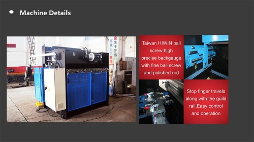 To Thailand WC67K 125T 2500MM Sheet Metal Bending Machine with E200