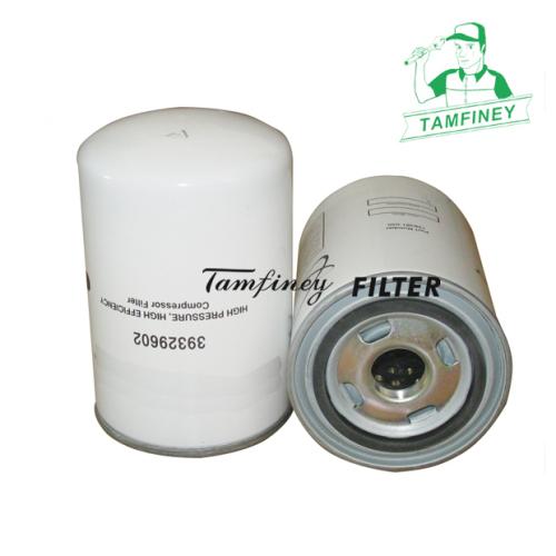 Aftermarket Ingersoll Rand Oil Filter 39329602 128381-050 128381050 3116609R92 V3754 499950338 Air Compressor Parts