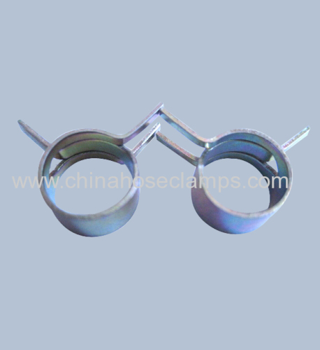 spring steel hose clamps