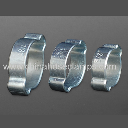 Carbon Steel Double Ear Hose Clamp