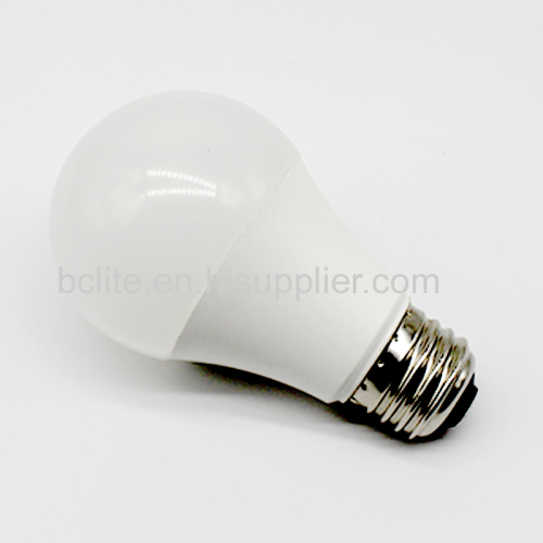 Plastic aluminum E27 A19 9w A60 75w replacement led bulb light