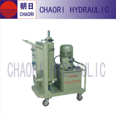 nitrogen charging cart fot accumulator