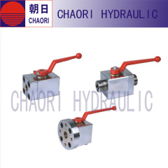 forged flanged end ball valve