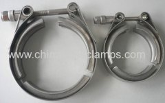 Exhaust V Band Clamps Flanges