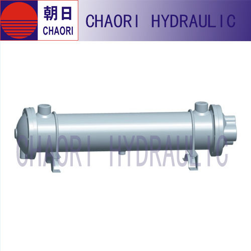 pipeline type oil cooler