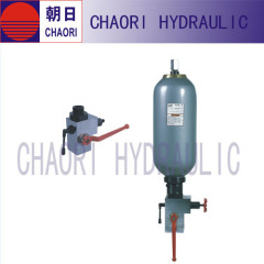 hydraulic safety shut off valve