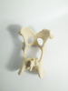 Canine/Dog Scientific Pelvis Skeleton Model Veterinary Education and Practice use
