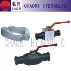 hydraulic flanged ball valve