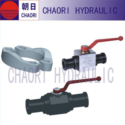 flanged type high pressure ball valve