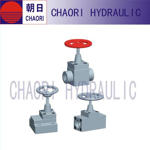 hydraulic check valve for accumulator