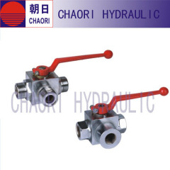 casting 3 way ballvalve