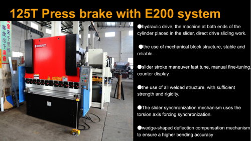 CNC Electric hydraulic Servo Proportional Press Brake CNC sheet folding folder machine